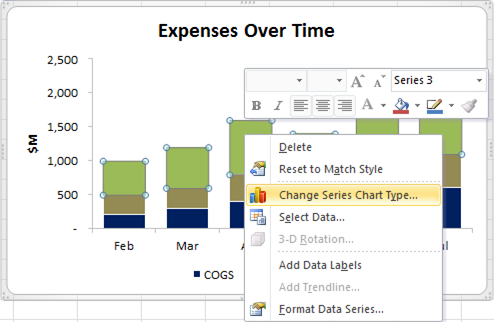 How to Add Total Data Labels to the Excel Stacked Bar Chart