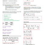 Regression Analysis Midterm Notesheet
