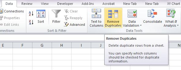 Remove Duplicates 01