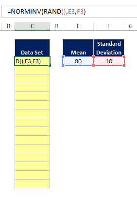 Excel Random Normal Distribution 05