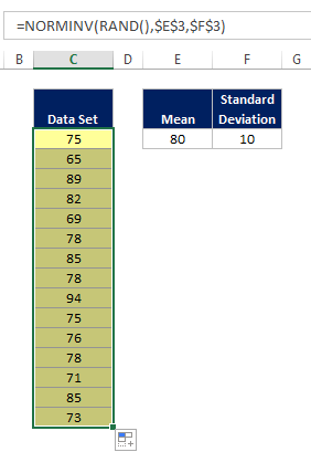 Excel Random Normal Distribution 07